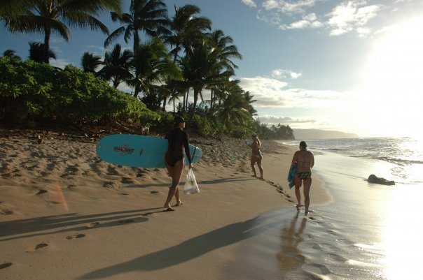 Surf destinations in Hawaii