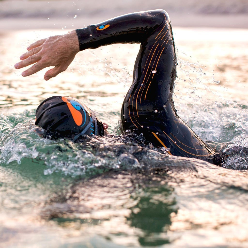 how to swim in a wetsuit