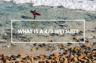 what is a 4/3 wetsuit