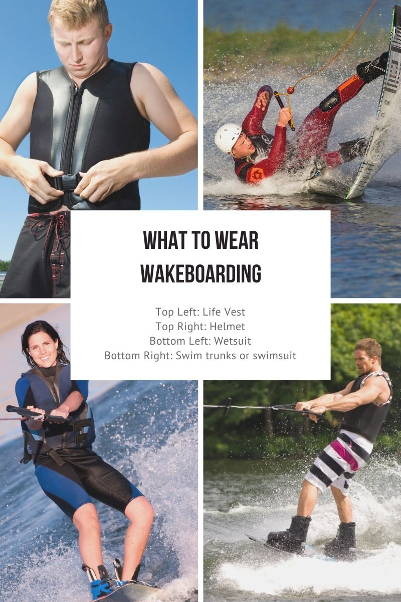what to wear wakeboarding